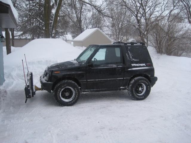 Suzuki Sidekick Snow Plow