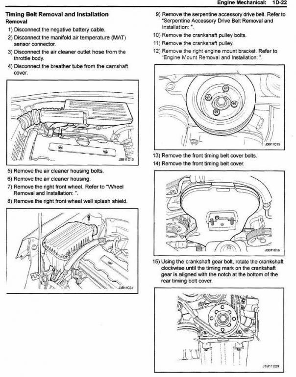 2006 Suzuki Forenza Engine Diagram