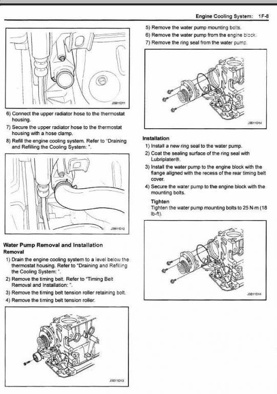 changing timing belt looking for some help suzuki forums suzuki rh suzuki forums com 06 Suzuki Forenza Belt Diagram 04 Suzuki Forenza Engine Diagram