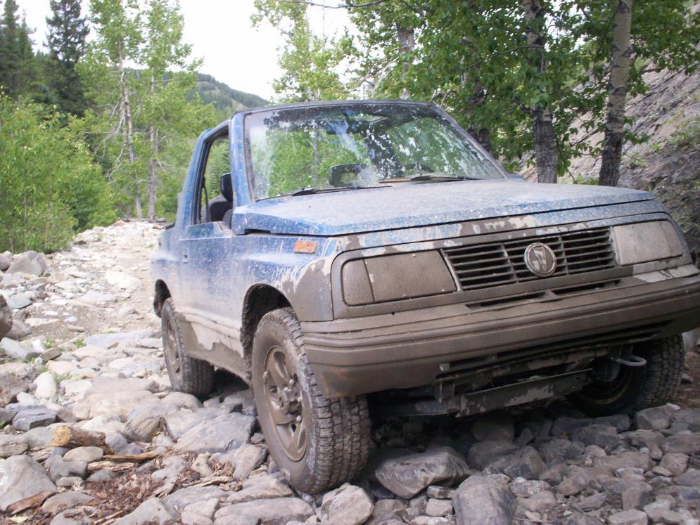 Suzuki Sidekick Front Skid Plate