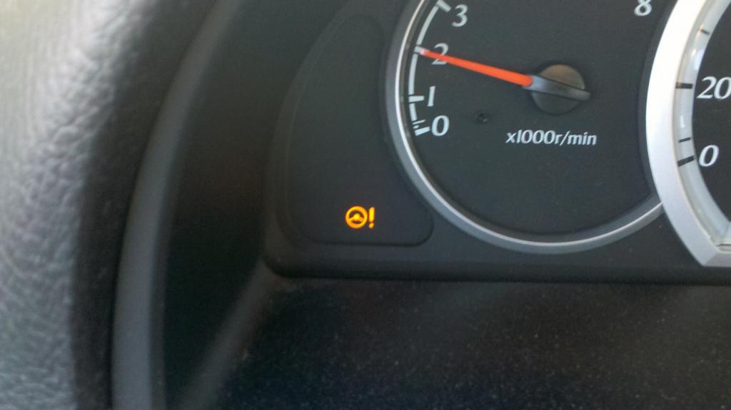 Suzuki Forenza Dash Warning Lights