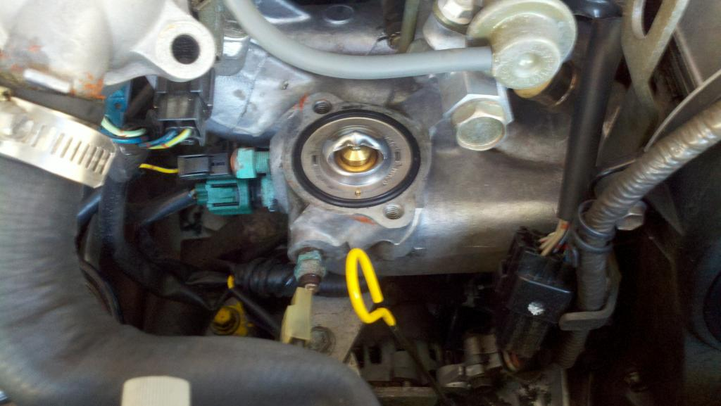 Suzuki Liana Thermostat Location