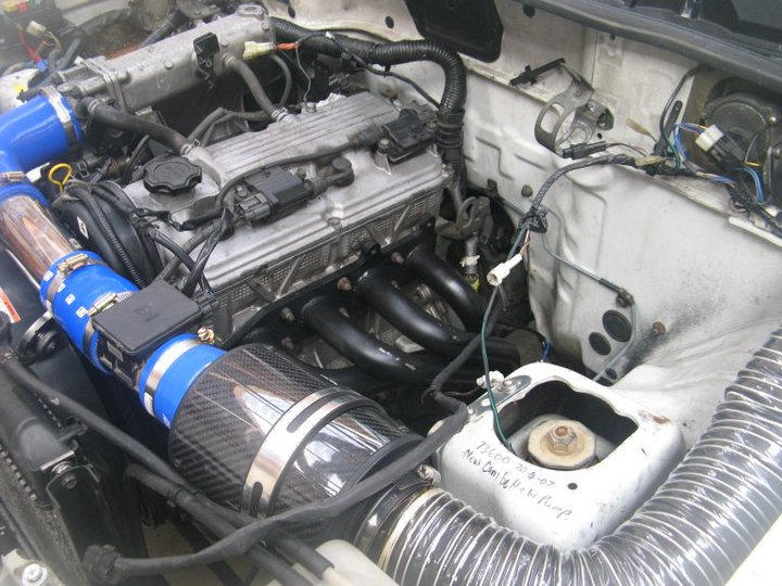 Suzuki Jimny Engine Conversion