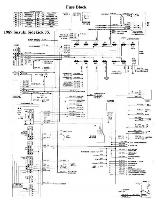 89 Tracker 8v 1 6l Won T Run Suzuki Forums Suzuki Forum