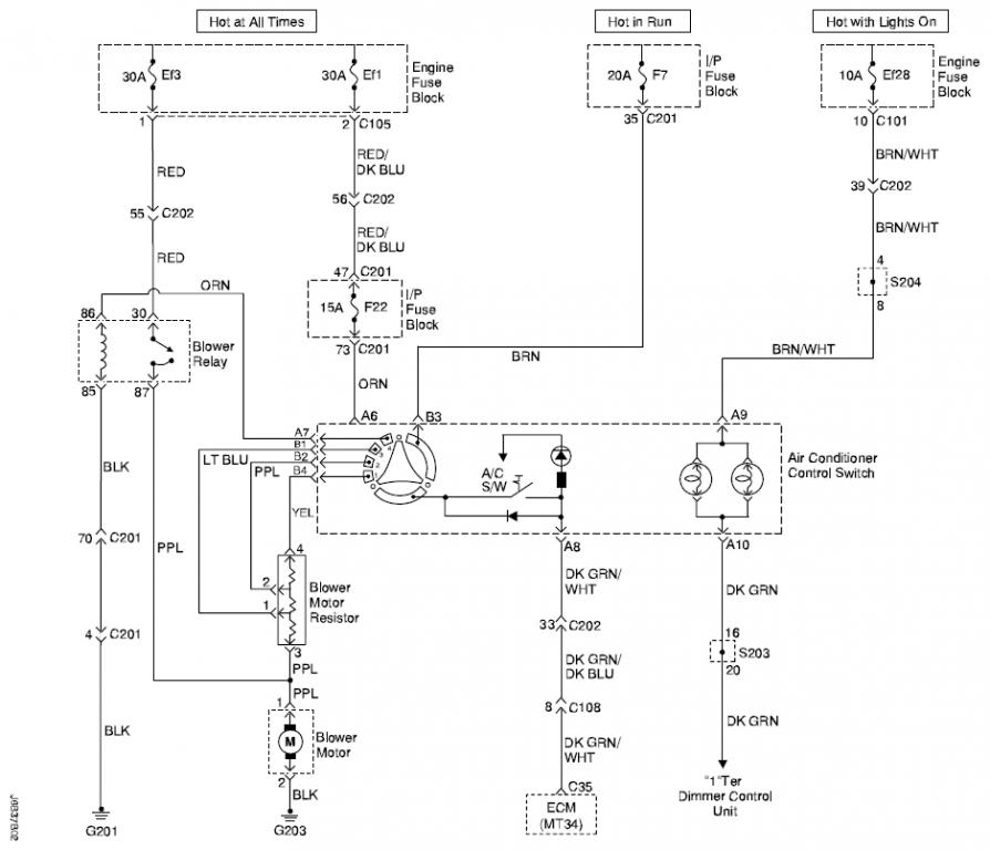 Need Help With Ac Wiring Diagram