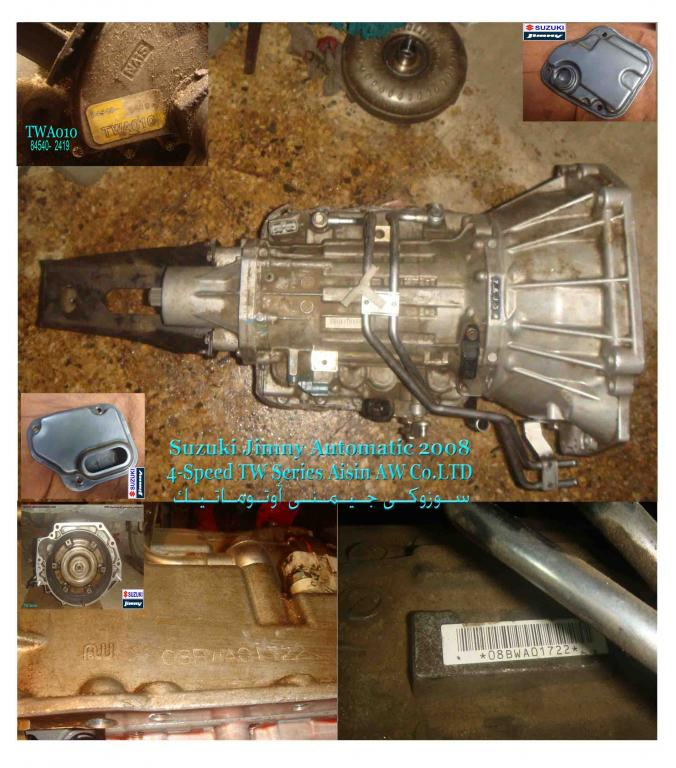 Jimny Automatic Transmission 2008-aisin-aw-co.ltd-tw-series-jimny