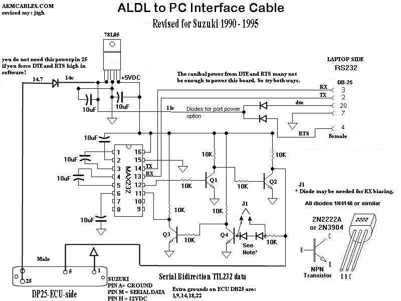 aldl connector wiring diagram rj45 female connector wiring diagram