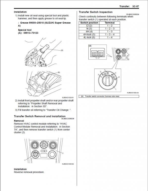 Transfer case front seal leaking again… - Page 7 - Suzuki Forums