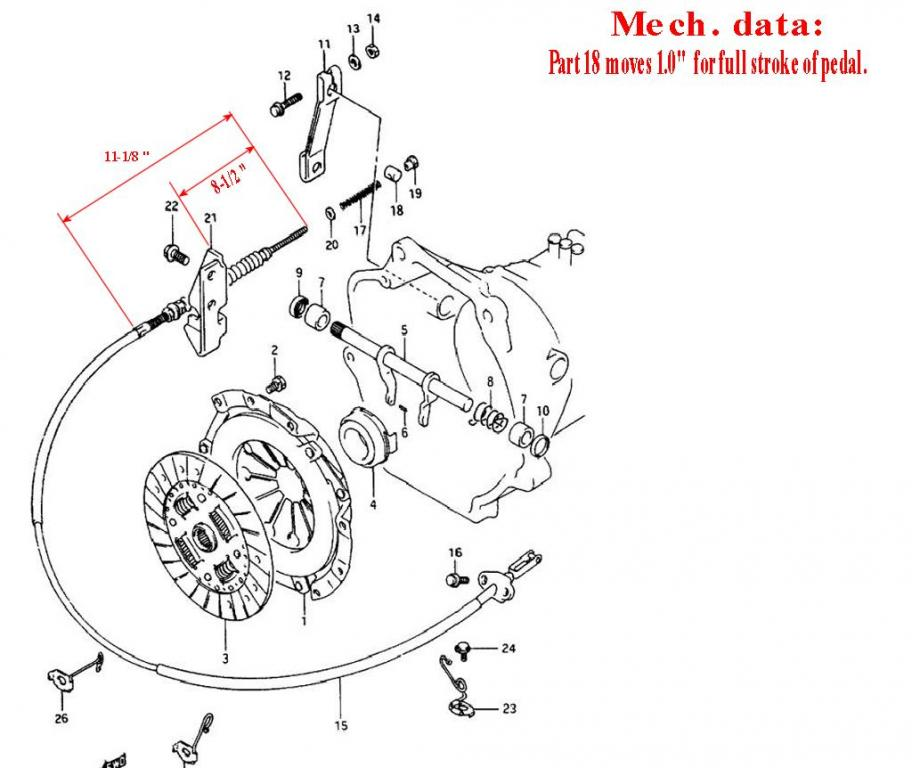 u0026 39 93 clutch pedal issues - cable  - page 3