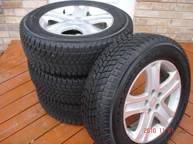 Set of 4 Yokohama Geolandar I/T G072 Winter Tires On Grand Vitara OEM Alloy Rims-dsc06839.jpg