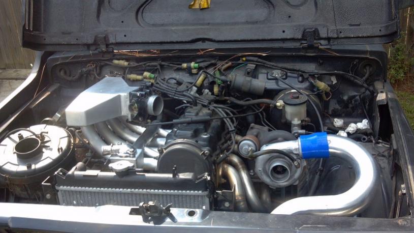 Suzuki Swift Turbo Conversion