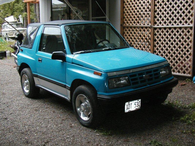 2000 Suzuki Sidekick - Swap X To Tracker Wd Geotrackersm Jpg - 2000 Suzuki Sidekick
