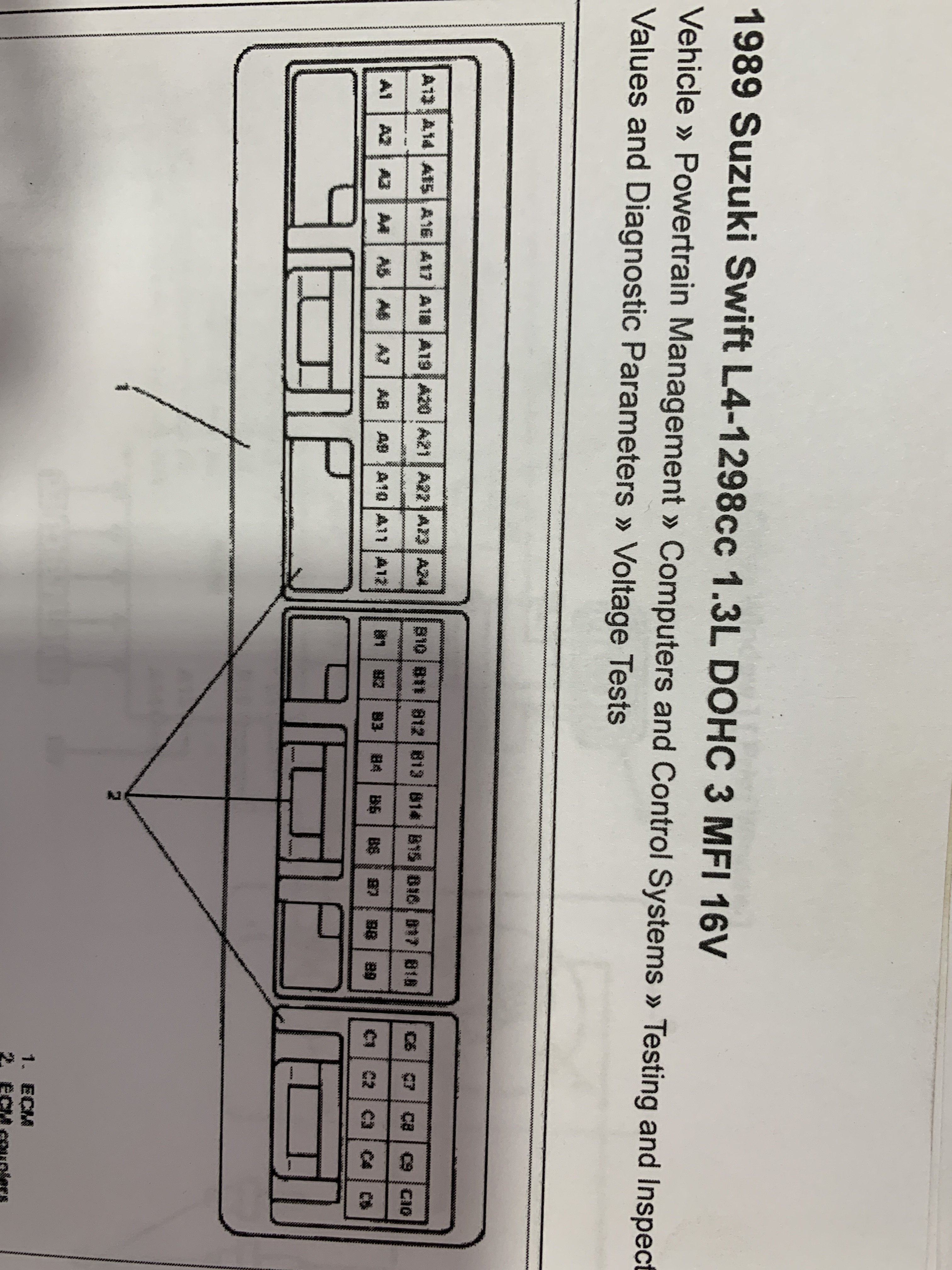 Suzuki Ignis Ecu Wiring Diagram