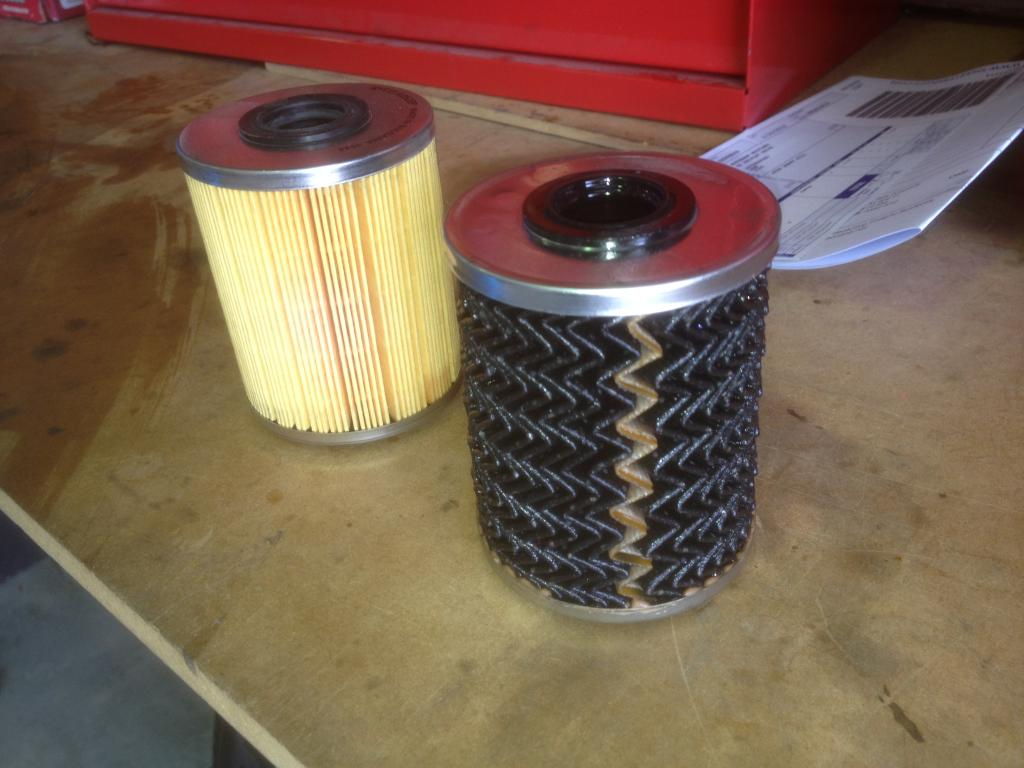 How often are you changing the Fuel Filter?