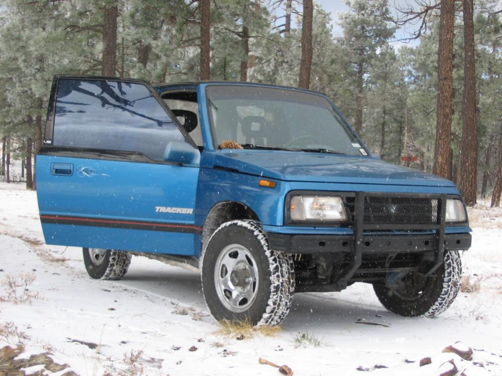 what size tires on my 89 sidekick 2door hardtop jx???? - Suzuki ...
