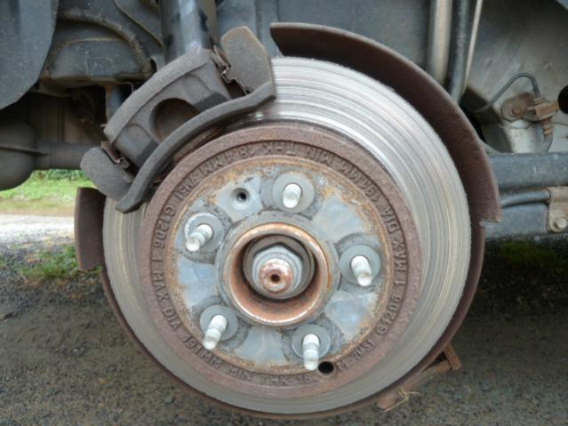 Replacing Rear Brake P And Rotors