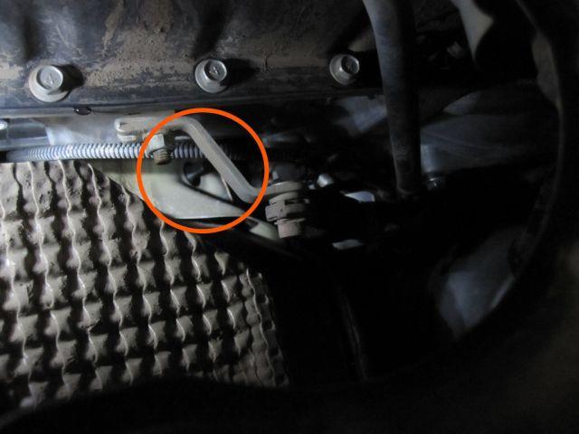 2007 Dodge Dakota AC Drain Tube Location on Bentley Engine Scheme