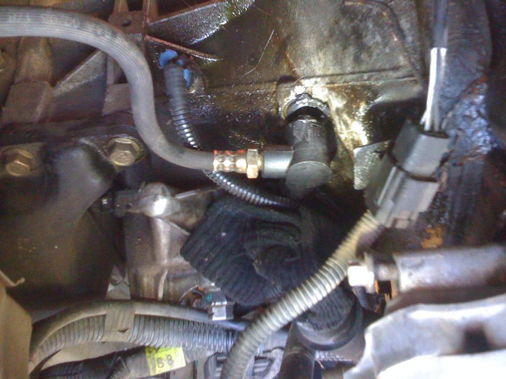 Clutch bleeder valve component leaking at base - Suzuki