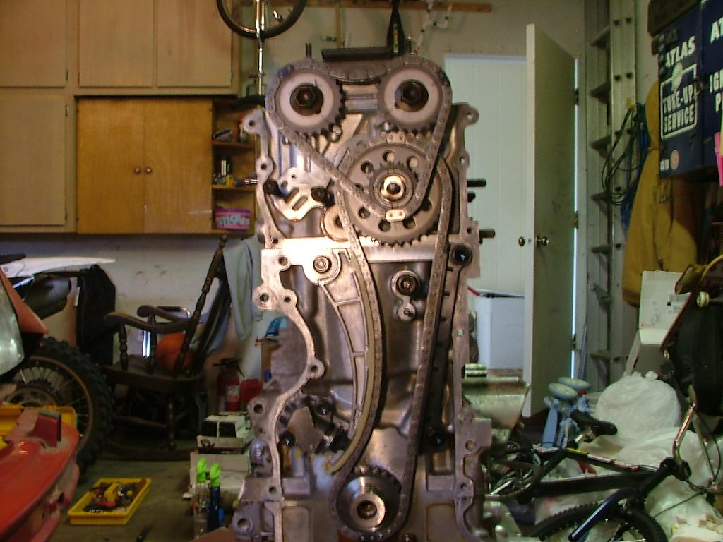 D Time Timing Chain Timing All on 2000 Chevy Tracker Engine Diagram