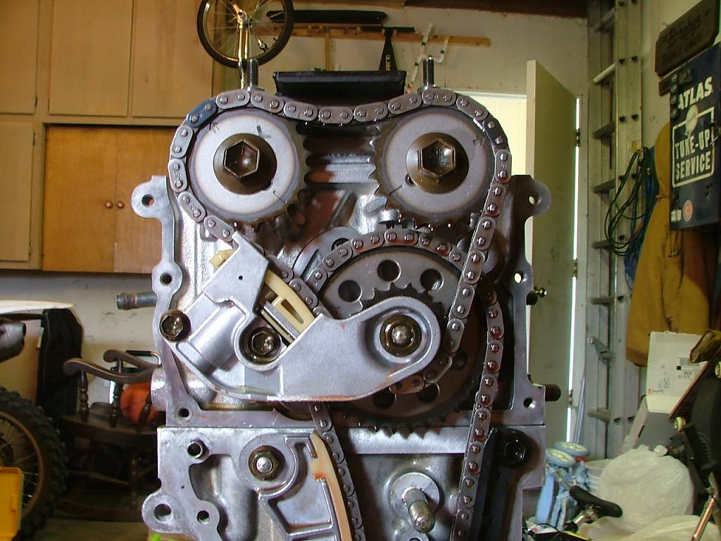 J20A 4 cylinder: Timing Chains and Tensioners (Vitara ...