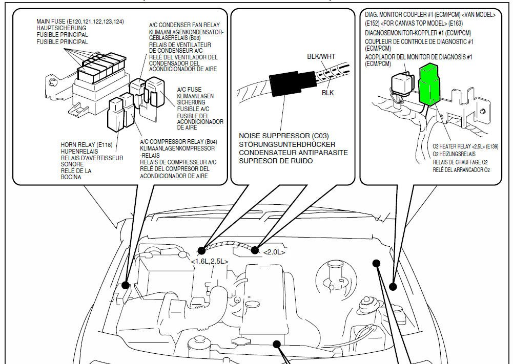 2003 Chevy Tracker O2 Issue