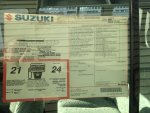 Dealer Sticker: 1998 Suzuki Sidekick JLX Sport 4x4